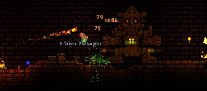 Terraria - Golem Boss and Jungle Temple Guide