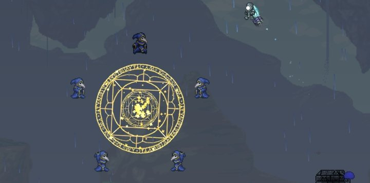 Terraria Lunatic Cultist Starting Lunar Events 02.11.2020 · a solar eclipse is happening! a solar eclipse is a hardmode event that occurs rarely after at least one mechanical boss has been defeated. terraria lunatic cultist starting