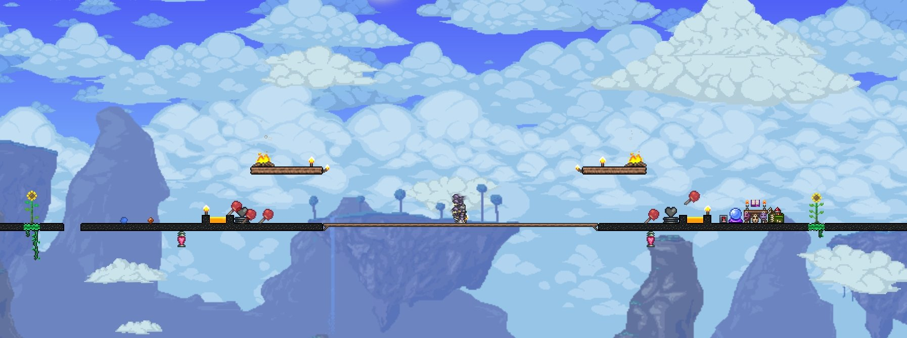Terraria Arena For Moon Lord All Bosses Wiring Timer A Boss Fight In