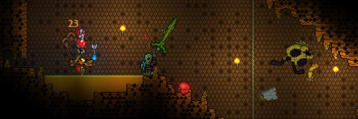 terraria how to find beehive