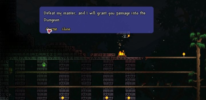 Terraria Skeletron Boss Guide Most dungeons, regardless of their visible background walls, have brick walls behind their foreground blocks. terraria skeletron boss guide