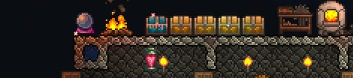 Terraria: Increase Spawns with Water Candle/Battle Potion