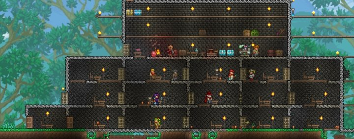 Building valid houses for vendors to live in requires just a little math and some requirements  sc 1 st  Carl\u0027s Guides : doors terraria - pezcame.com