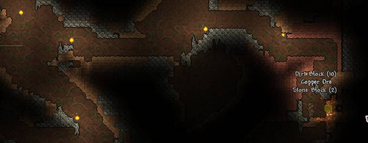 Terraria Exploring Caves Amp Mining Early Game
