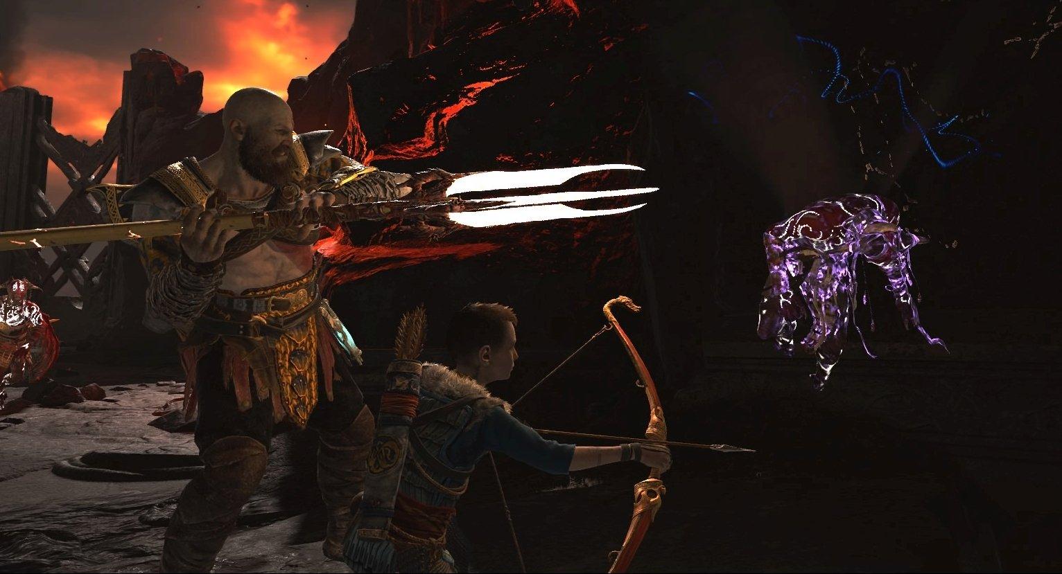 God Of War Atreus Combat Abilities Tips And Strategies