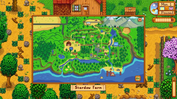 Stardew Valley Map