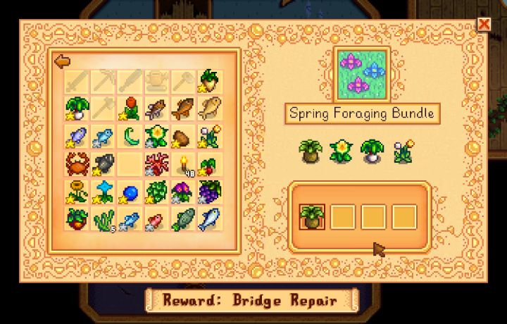Items You Need To Keep Complete Bundles In Stardew Valley