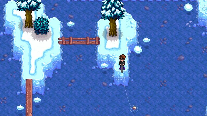 Stardew Valley Fishing Spot in the Mountains