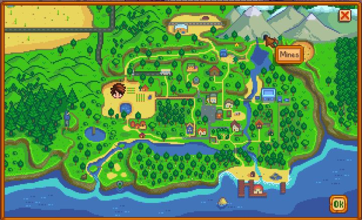 Stardew Valley: Mining Guide - The Mines & Depth
