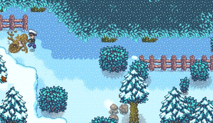 How to find the Secret Woods in Stardew Valley