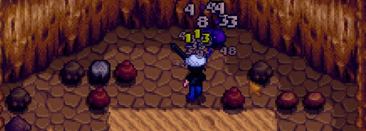 Combat in skull cavern to prevent dying in Stardew Valley