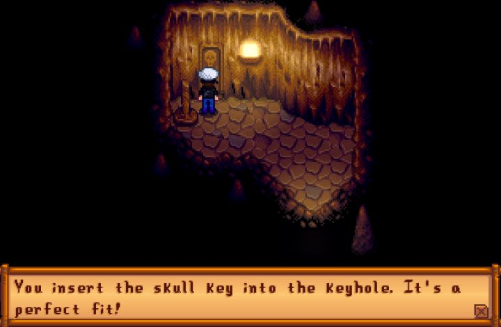 How to find the Skull Cavern in Stardew Valley