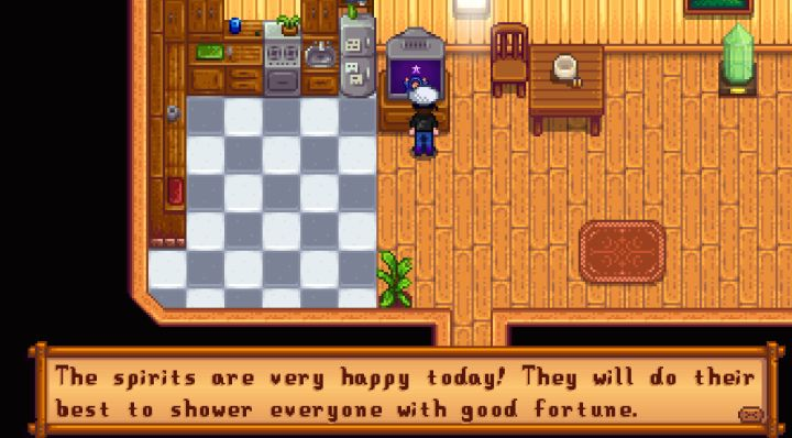 Luck in Stardew Valley