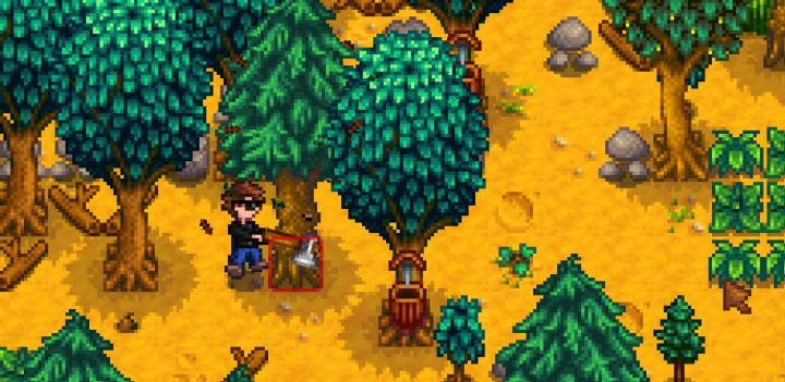 tappers for oak resin, pine tar, and maple syrup in stardew valley