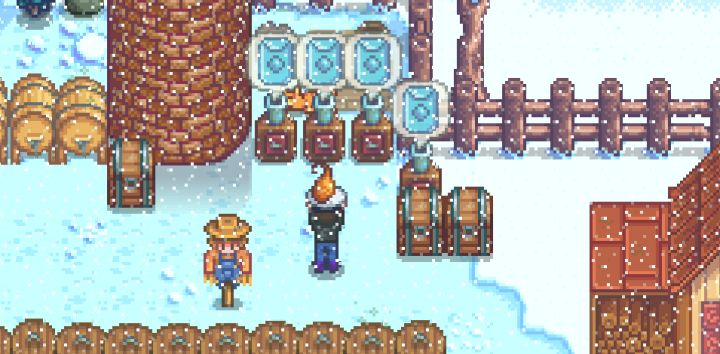 Seed Makers in Stardew Valley