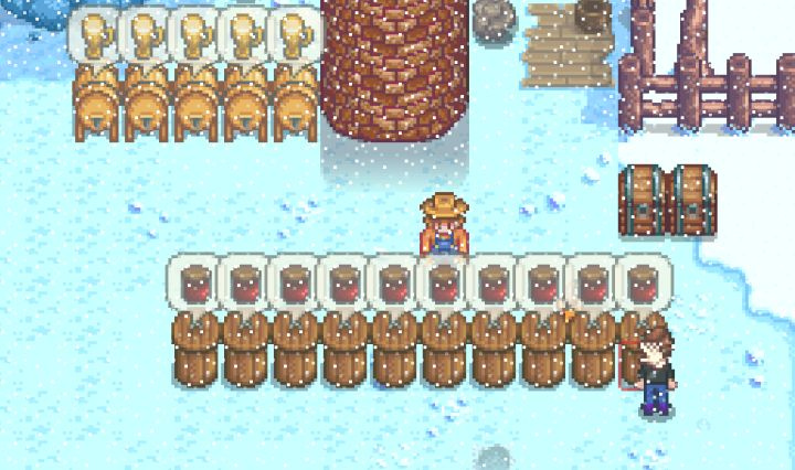 stardew valley winter things to do for fun profit. Black Bedroom Furniture Sets. Home Design Ideas